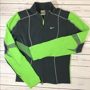 Women's Nike Fit Dry zip up jacket size S 4-5 vent